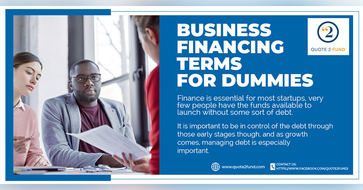 Business Financing Terms That Won't Confuse You